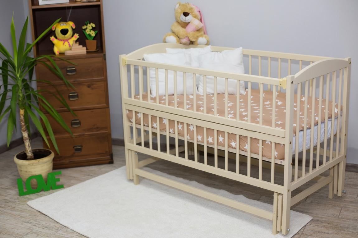 """Дитяче ліжечко """"Антошка 2"""" СЛОНОВА кістка"""