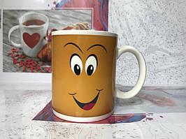 """Чашка-хамелеон """"Усмішка"""""""