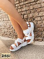 Женские босоножки сандалии спортивные белые 36,39,40 размер