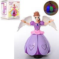 Кукла LD-131A 23 см, ангел/фея, музыка, свет, танцует, на батарейке