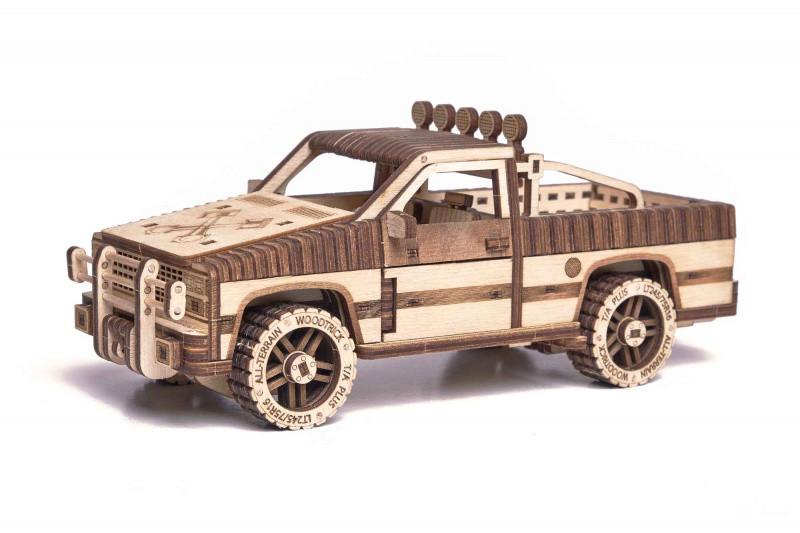 """3D пазл """"Пикап WT-1500"""" деревянный конструктор"""