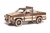 """3D пазл """"Пикап WT-1500"""" деревянный конструктор, фото 1"""