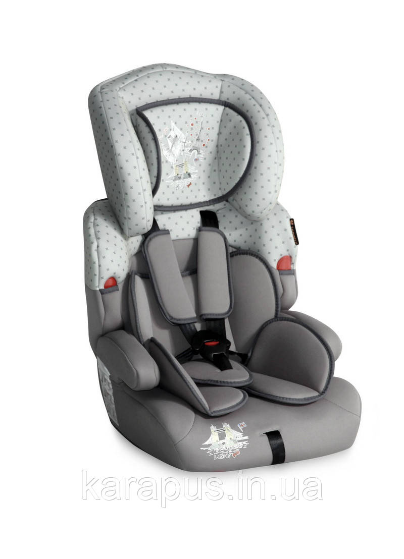 Автокресло KIDDY 9-36 KG GREY TRAVELLING
