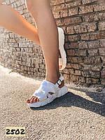 Женские босоножки сандалии спортивные белые 36,38,40,41 размер
