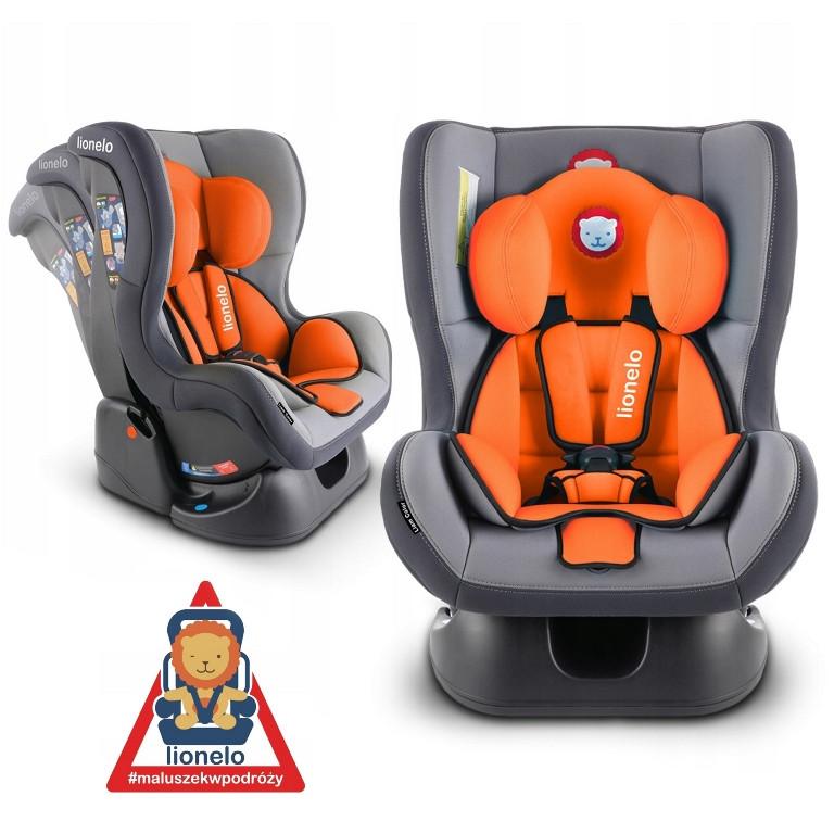 Автокресло Lionelo LIAM 0-18 kg  Orange