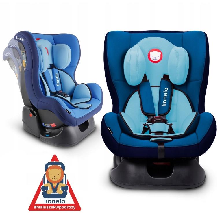 Автокресло Lionelo LIAM PLUS 0-18 kg Blue
