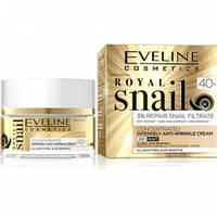 Дневной/ночной крем для лица Eveline Cosmetics против морщин Royal Snail 40+ 50 мл (97300)
