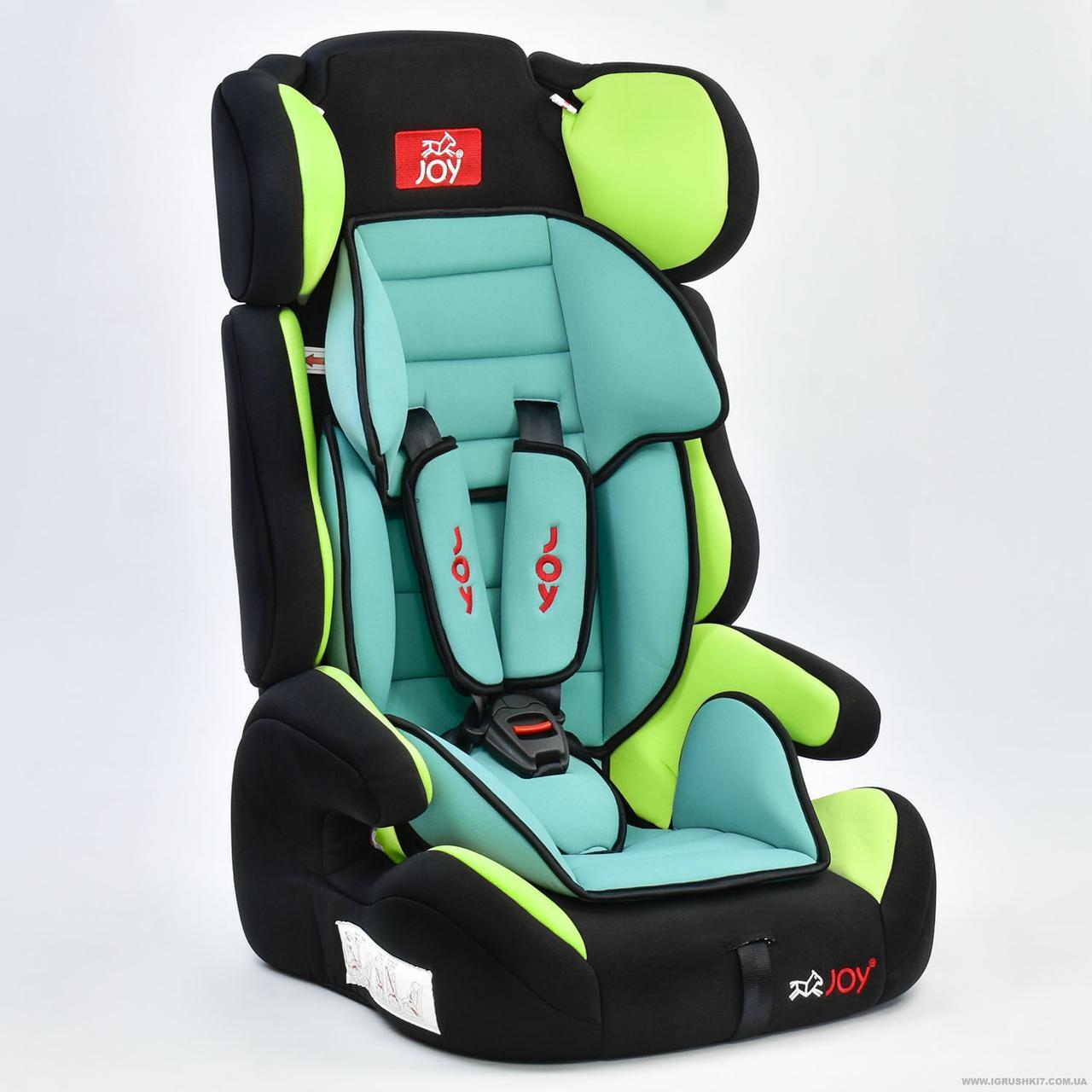 Автокресло универсальное Е 4445 (2) Цвет чёрно-зелёный 9-36 кг Joy