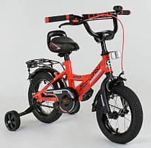 """Велосипед 12"""" дюймов 2-х колёсный """"CORSO"""" CL-12 D 0106 (1)КРАСНЫЙ"""