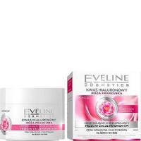 Дневной/ночной крем для лица Eveline Cosmetics с гиалуроновой кислотой + экстракт Французской Розы 50 мл (97556)