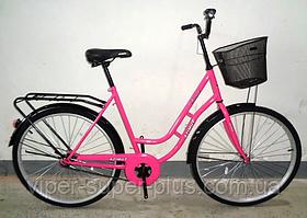 """✅ Велосипед Azimut NEW RETRO 26"""" Дюймів - VIOLET жіноча рама"""