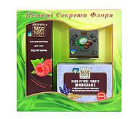Подарочный набор Flora Secret Праздничный натуральное мыло и масло (F54)