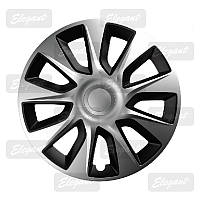 Колпаки колес Elegant STRATOS SILVER&BLACK R13