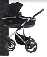 Детская универсальная коляска Bebetto BRESSO Premium SILVER 01