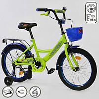 """Велосипед 18"""" дюймов 2-х колёсный G-18180 """"CORSO"""" (1), СОБРАННЫЙ НА 75%, в коробке"""