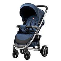 Коляска прогулочная CARRELLO Vista CRL-8505 Denim Blue в льне +дождевик