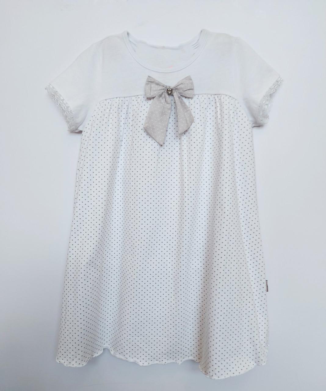 Платье для девочки Mariquita   121-28-018 белое 92-98