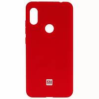 Чехол-накладка Original Silicone Xiaomi Redmi Note 8 Красная