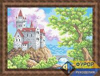 Схема для вышивки бисером - Замок на холме, Арт. ПБп3-008