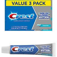 Отбеливающая зубная паста Crest baking soda & peroxide whitening (161 г)