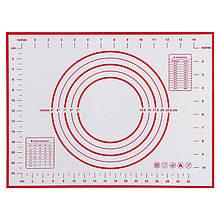 Силиконовый коврик для теста Tammy 60 х 40 см красный (KT-17570)