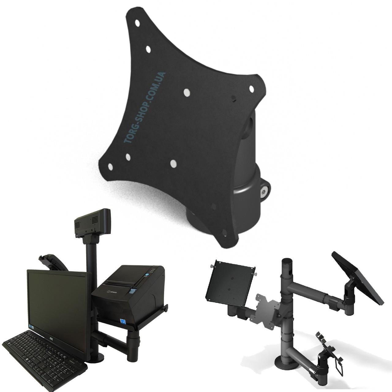Тримач верхнього кріплення монітора для ергономічної стійки