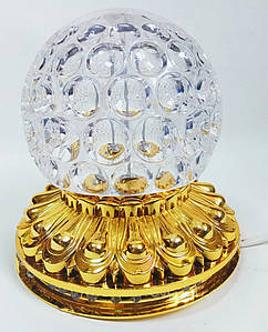 Ночник-шар светодиодный ZT-0810 RHD-97-1 Золотистый 179110