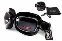 Спортивные очки закрытого типа Global Vision Retro Joe черные, фото 1
