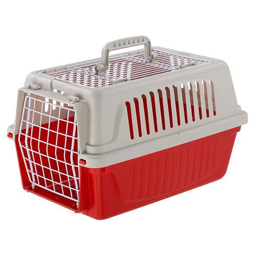 Переноска Ferplast Carrier Atlas 5 Open TOP для маленьких собак, кішок, кроликів та інших великих гризунів, пластик, 28x41,5x24,5 см