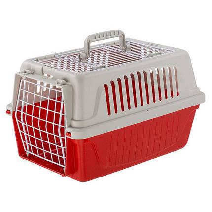 Переноска Ferplast Carrier Atlas 5 Open TOP для маленьких собак, кішок, кроликів та інших великих гризунів, пластик, 28x41,5x24,5 см, фото 2