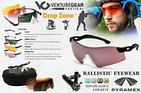 Захисні балістичні окуляри Venture Gear Drop Zone (змінні лінзи), фото 1