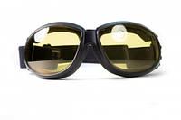 Спортивні окуляри закритого типу Global Vision Eliminator фотохромні жовті
