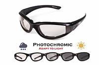 Спортивные очки Global Vision HawkEye фотохромные прозрачные, фото 1