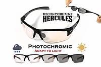 Спортивні окуляри Global Vision Hercules-7 Anti-Fog, фотохромні прозорі
