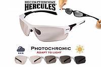 Захисні тактичні окуляри Global Vision Hercules-7 24 фотохромні в білій оправі