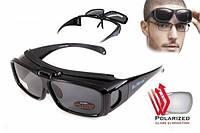 Поляризационные очки BluWater Flip-IT черные, фото 1