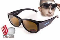 Поляризационные очки BluWater OverBoard коричневые, фото 1