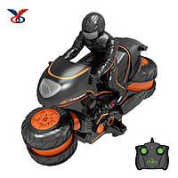 Мотоцикл дрифт на радиоуправлении 2,4Ghz Crazon.  Гоночный мотоцикл. Rc car  BY190, фото 1