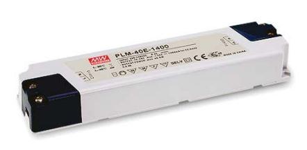 Блок питания драйвер светодиода 700ма 40вт 29-57вольт PLM-40E-700 MEAN WELL 7703о