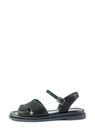 Босоножки женские Lonza СФ L-156-1503-7 KM черные (36), фото 2