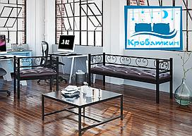Комплект кресло и диван 3-х местный Грин Трик Тенеро