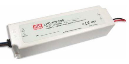 Драйвер світлодіода 1050мА 100 Вт 48-96вольт блок живлення LPC-100-1050 MEAN WELL 7735о