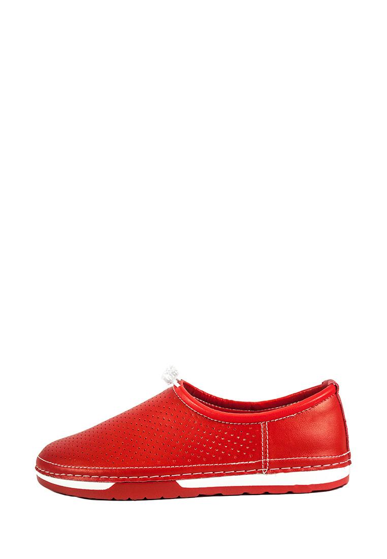 Мокасіни жіночі Allshoes червоний 20775 (36)