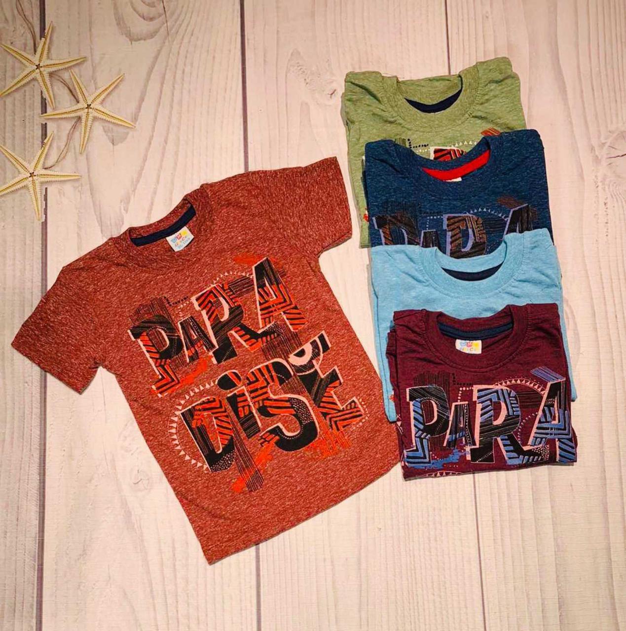 Детская футболка для мальчика р. 1-5 лет