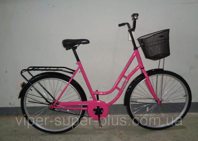 """✅ Велосипед Azimut NEW RETRO 28"""" Дюймів - VIOLET"""
