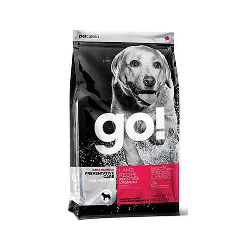 Сухой корм GO! Daily Defence Lamb Dog Recipe корм для щенков и взрослых собак со свежим ягненком, 100 г