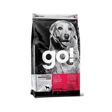 Сухой корм GO! Daily Defence Lamb Dog Recipe корм для щенков и взрослых собак со свежим ягненком, 100 г, фото 2