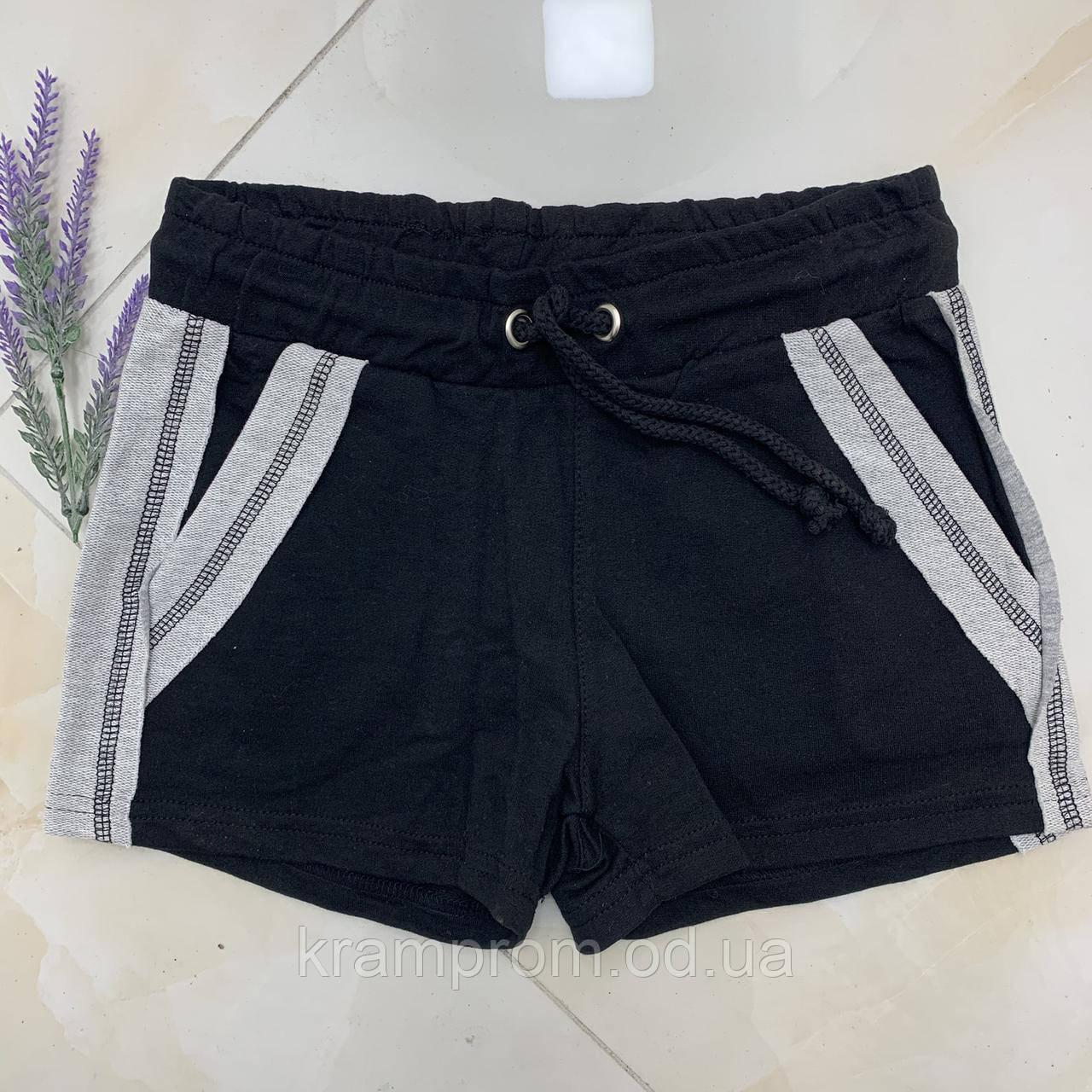 Короткие женские шорты двухнитка котон . Женская одежда.