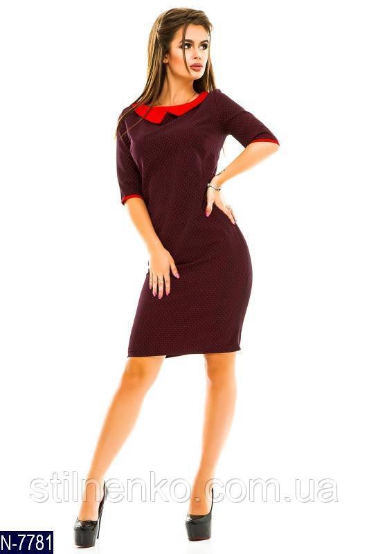Платье женское ткань креп костюмка