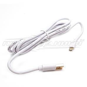 Кабель USB 2.0 - micro USB (премиум качество), 1.8 м ,белый, фото 2